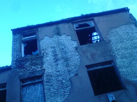 Burnt Out Building Sunderland