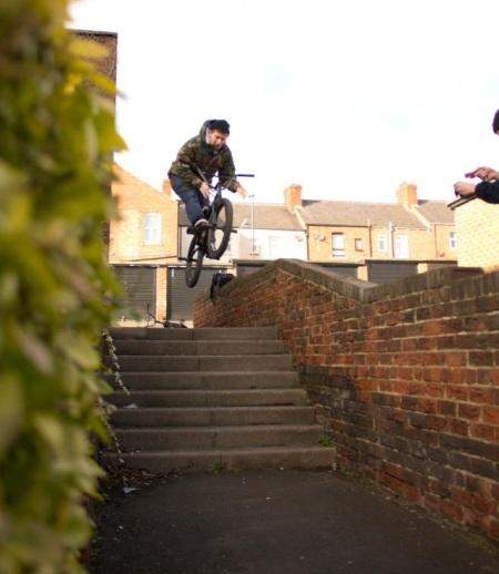 Sunderland BMX Raymond Inskipp
