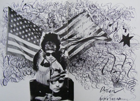bob dylan by ralph steadman