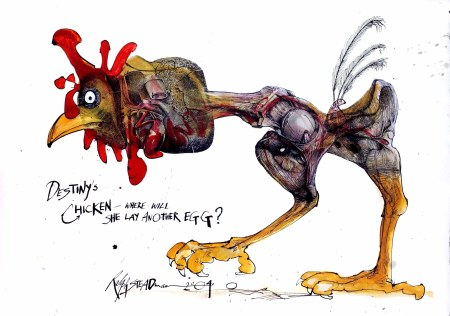 Ralph Steadman Chicken's Destiny