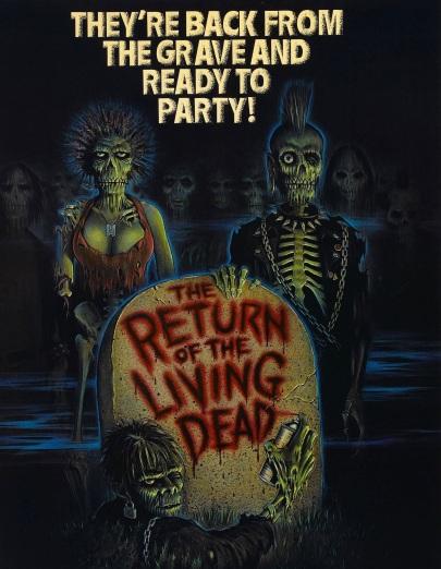 return of living dead poster