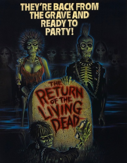 return of living dead poster