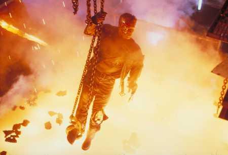 Terminator 2 Melting Scene