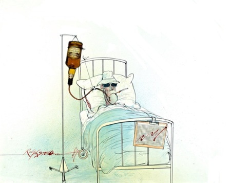 Ralph Steadman Hunter S Thompson Whiskey Drip