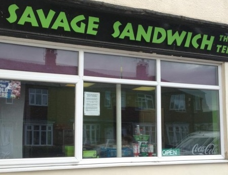 The Savage Sandwich Shop