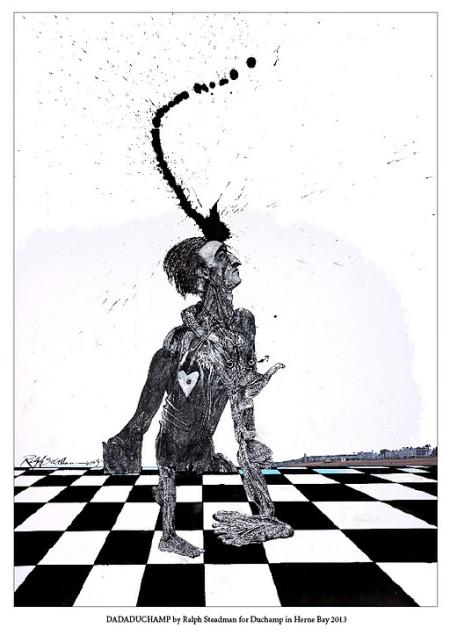 Marcel Duchamp Ralph Steadman