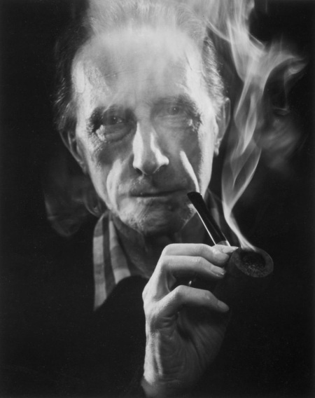 Marcel Duchamp Smoking