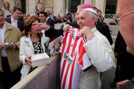 Pope Francis Sunderland Shirt
