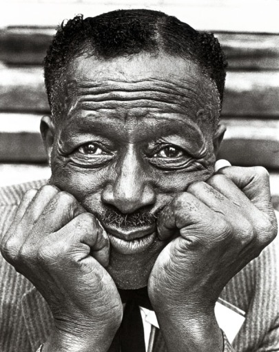 Son House Black & White Photo Musician Blues