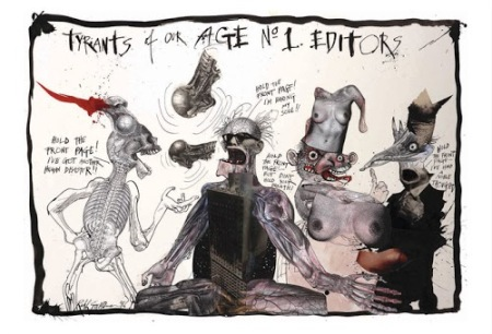 Ralph Steadman Tyrants Of Our Age