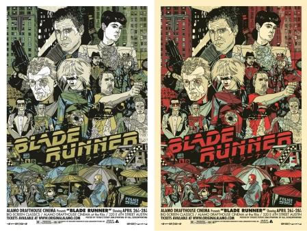 Blade Runner Film Poster Tyler Stout