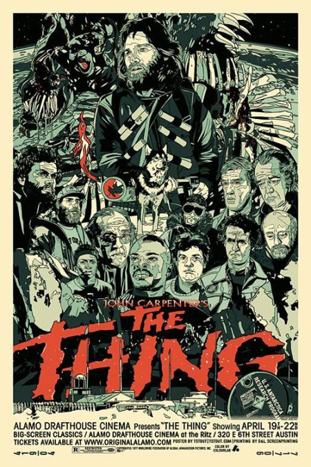 Tyler Stout The Thing Film Poster