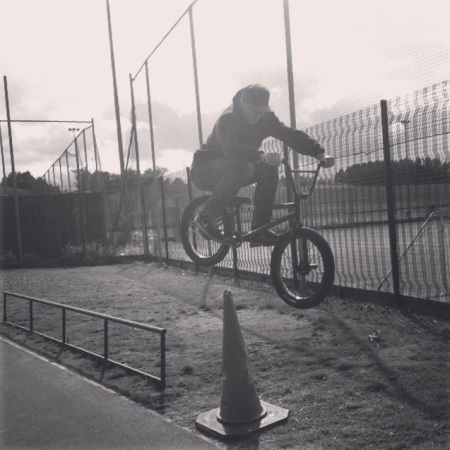Sam Watson Pegs To Cone Hop BMX Unknown Parasites