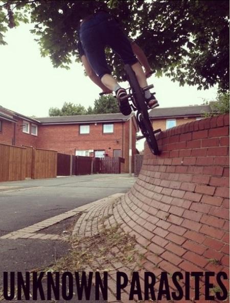 Fletch Gateshead Street Quaters Unknown Parasites BMX