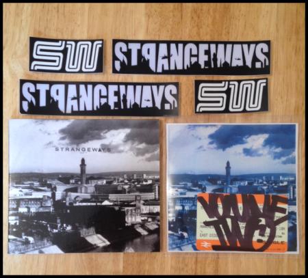 Strangeways Vol 1 & 2 dvd Bmx Manchester