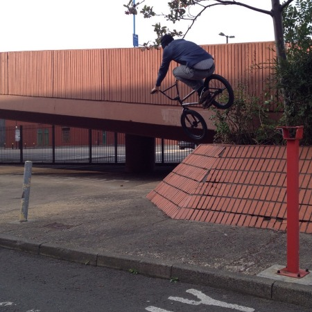 Scott Thompson Unknown Parasites BMX UK