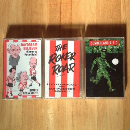 Sunderland Cassette Tapes SAFC Roker Roar