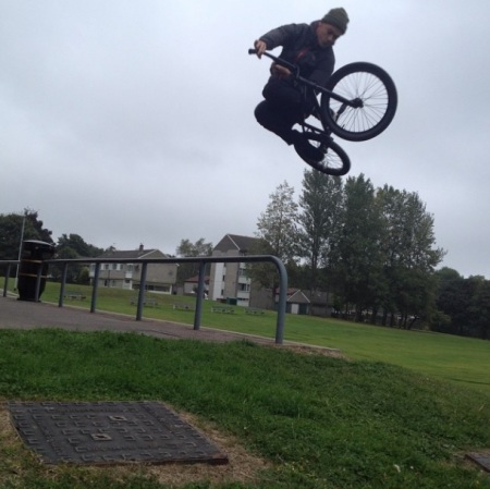 Tim Evans Unknown Parasites Bmx UK