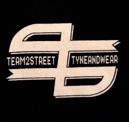 Team 2 Street T-shirt BMX T2S