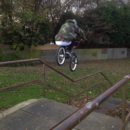 Benn Goodall Unknown Parasites BMX