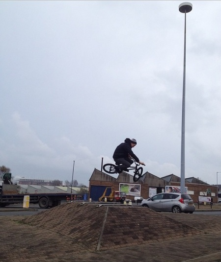 Cookie Sunderland BMX T2S Unknown Parasites