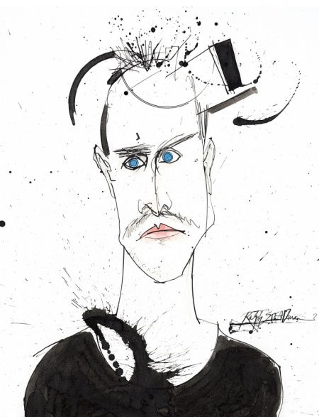 Jesse Pinkman Breaking Bad Ralph Steadman Art