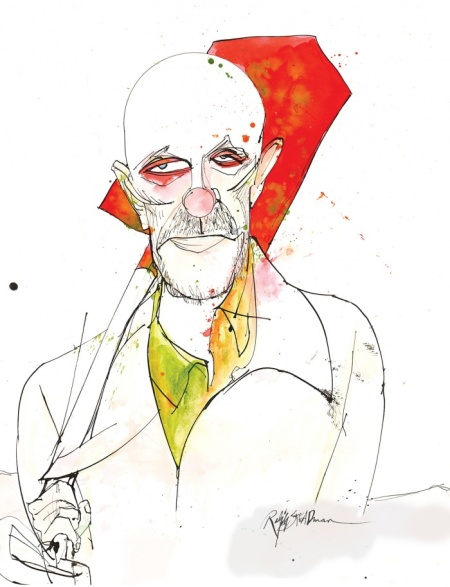 Mike Ehrmantraut Breaking Bad Ralph Steadman Art