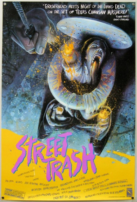 Street Trash 1987 Film Poster