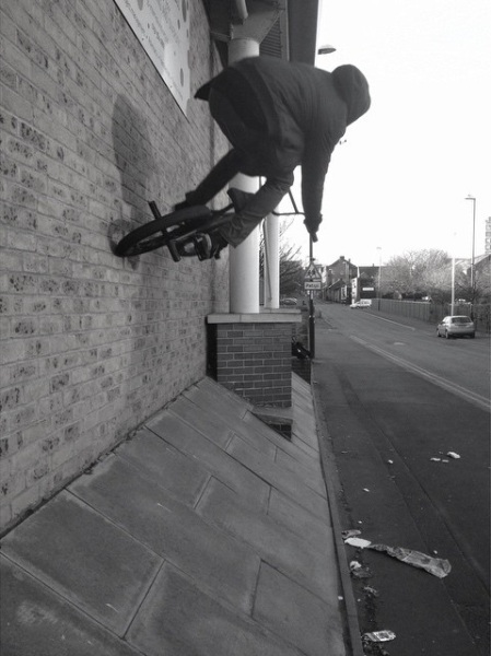 Greg Kew Unknown Parasites BMX UK Sunderland