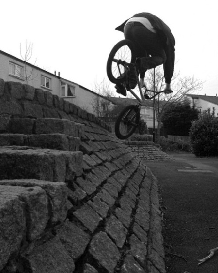 Cookie Sunderland BMX UK T2S Unknown Parasites