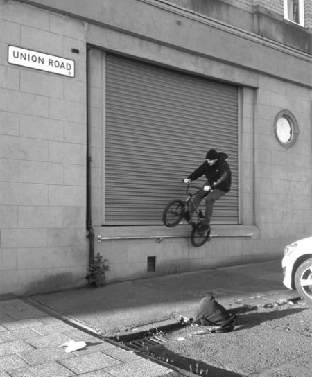 Danny Crossley Byker UK BMX Broth